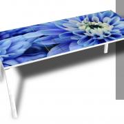 Easy Desk Blauwe Bloem