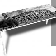 Easy Desk Foto Zwart- Wit